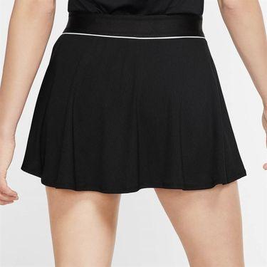 Nike Court Dri Fit Skirt Womens Black/White 939318 011