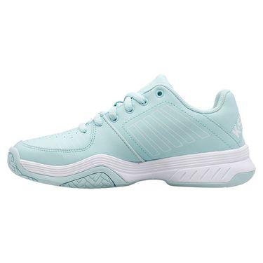 K Swiss Court Express Womens Tennis Shoe Icy Mourn/White 95443 415