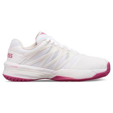 K Swiss Ultrashot 2 Womens Tennis Shoe White/Cactus Flower/Nimbus Cloud 96168 127