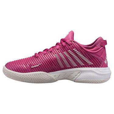 K Swiss Hypercourt Supreme Womens Tennis Shoe Cactus Flower/Nimbus Cloud/White 96615 666