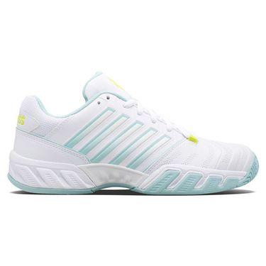 K Swiss Bigshot Light 4 Womens Tennis Shoe White/Icy Mourn/Love Bird 96989 132