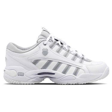 K Swiss Ultrascendor Womens Tennis Shoe White/Highrise/Silver 9990 150
