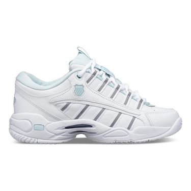K Swiss Ultrascendor Womens Tennis Shoe - White/Pastel Blue