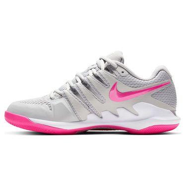 Nike Court Air Zoom Vapor X Womens Tennis Shoe Grey Fog/Pink Blast/White AA8027 011
