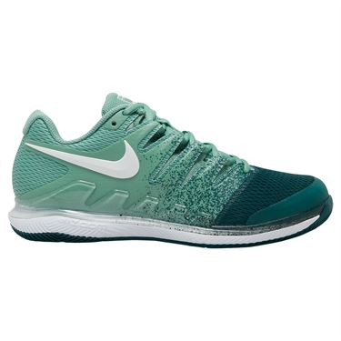 Nike Court Air Zoom Vapor X Womens Tennis Shoe Healing Jade/White/ Dark Atomic Teal AA8027 301
