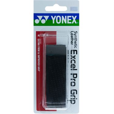 Yonex Synthetic Leather Excel Pro Replacement Grip - Black