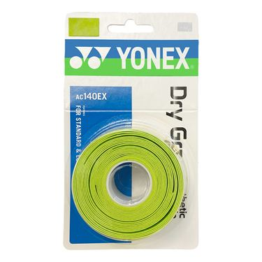 Yonex Dry Grap Overgrip 3 Pack - Citrus Green