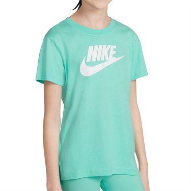Nike Sportswear Girls Tee Shirt Tropical Twist AR5088 307