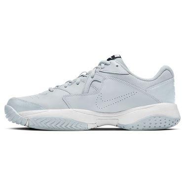Nike Court Lite 2 Mens Tennis Shoe Pure Platinum/Obsidian/White AR8836 007