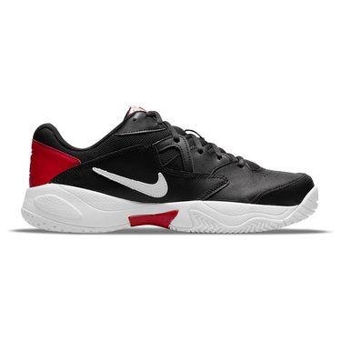Nike Court Lite 2 Mens Tennis Shoe Black/White/Gym Red AR8836 008