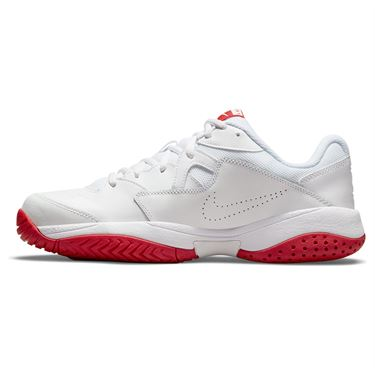Nike Court Lite 2 Mens Tennis Shoe White/University Red AR8836 177