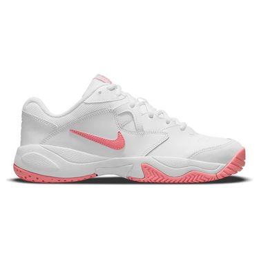 Nike Court Lite 2 Womens Tennis Shoe White/Pink Salt AR8838 116