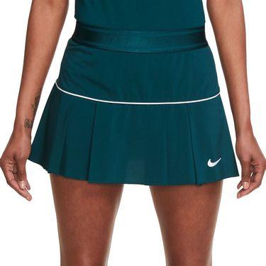Nike Court Victory Skirt Womens Dark Atomic Teal/White AT5724 300