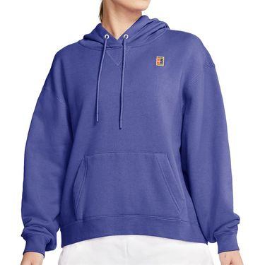 Nike Court Hoodie Womens Rush Violet/White AV0766 554