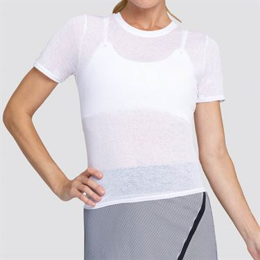 Tail Core Geneva Top Womens Chalk AX2649 120X