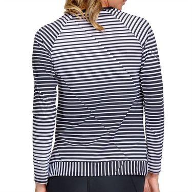 Tail Core Donella Long Sleeve w/ Pocket Top Womens Vertigo Stripe AX2827 L92X
