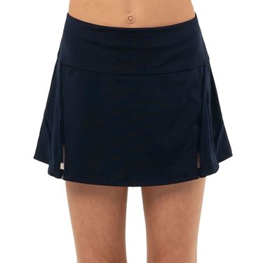 Lucky in Love Peace Out Girls Mini Inline Skirt Midnight B112 401