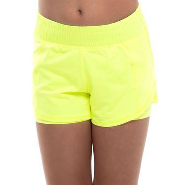 Lucky in Love Girls Core Match Point Short Neon Yellow B119 710