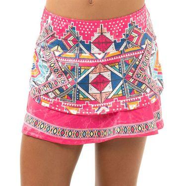 Lucky in Love Girls Pretty In Ink Skirt Shocking Pink B121 H96645