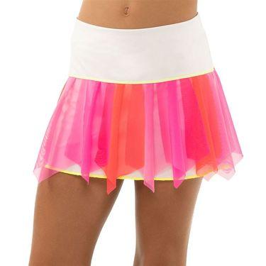 Lucky in Love Girls Core Sashay Skirt Neon Pink B124 648