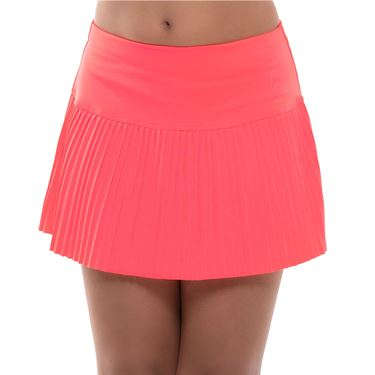 Lucky in Love Girls Core Pleated Skirt Coral Crush B99 647