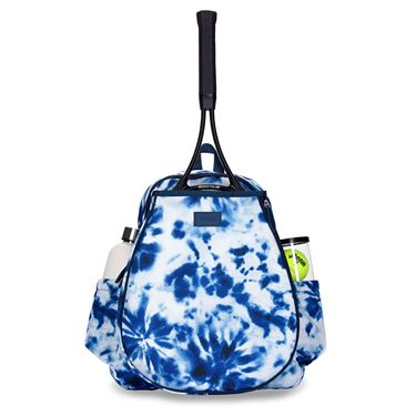 Ame and Lulu Game On Backpack - Tie-Dye Navy
