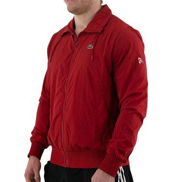 Lacoste Novak On Court Jacket Mens Ladybird Cherry Red BH6936 5SX