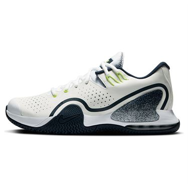 Nike Court Tech Challenge 20 Mens Tennis Shoe - Navy/Hot Lime