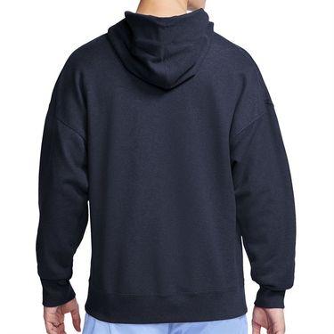 Nike Court Heritage Hoodie Mens Obsidian BV0760 452