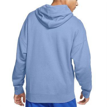 Nike Court Heritage Hoodie Mens Aluminum BV0760 468