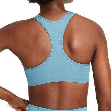 Nike Swoosh Sport Bra Womens Cerulean/Pure/White BV3636 424