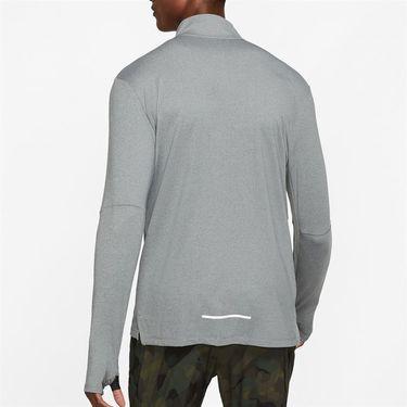 Nike Element 3.0 1/2 Zip Long Sleeve Shirt Mens Dark Smoke Grey/Heather/Reflective Silver BV4721 068