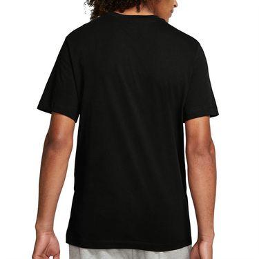 Nike Court Tee Shirt Mens Black/White BV5809 011