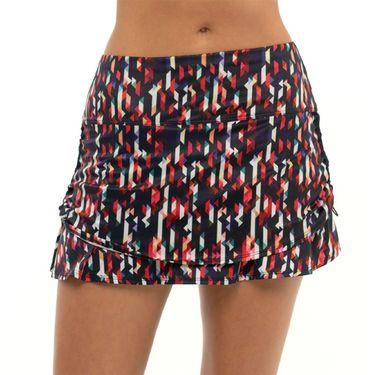 Lucky in Love Novelty Bermuda Ruche Skirt Womens Multi CB130 J50955