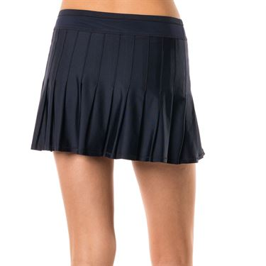 Lucky in Love Ultraviolet Long Retro Pleated Skirt - Midnight