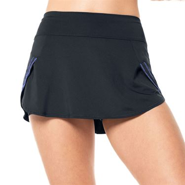 Lucky in Love On The Prowl Renew Pulse Skirt Womens Charcoal CB306 040