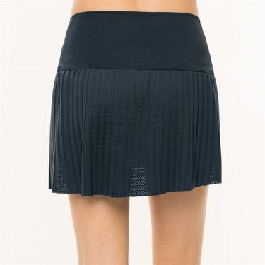 Lucky in Love BMS Hi Chop Pleated Skirt - Midnight