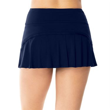 Lucky in Love Peace Out Mesh Inline Skirt Womens Midnight CB443 401
