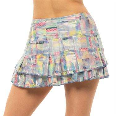 Lucky in Love Count Me In Skirt Womens Blue Marine CB493 G43430
