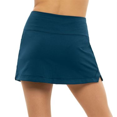 Lucky in Love Pretty In Ink Long Baller Skirt Womens Indigo CB505 402