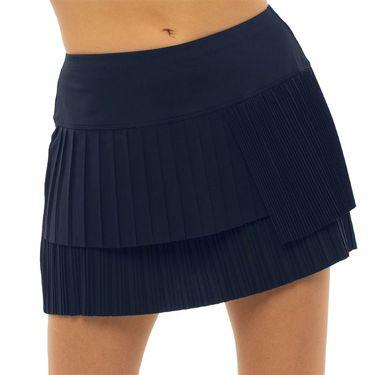 Lucky in Love Novelty Long Free Spirit Pleated Skirt Womens Midnight CB515 401