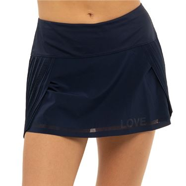 Lucky in Love Novelty Love is Power Skirt Womens Midnight CB516 G05401