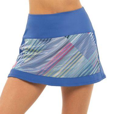 Lucky in Love Count Me In Long Sheer Genius Skirt Womens Blue Marine CB523 G73430