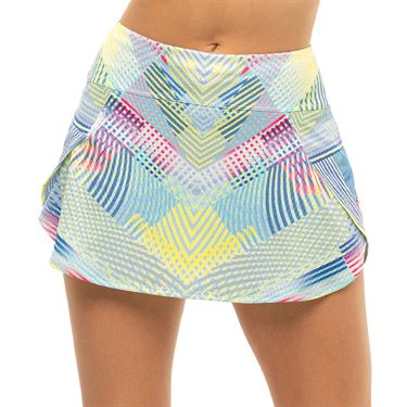 Lucky in Love Count Me In Flow Motion Skirt Womens Blue Marine CB526 G40430