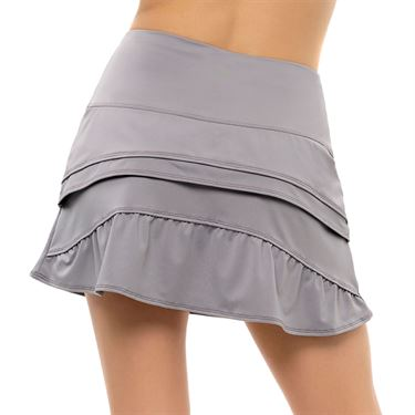Lucky in Love Nice To Pleat You Long Wave Skirt Womens Eclipse 2 CB534 048