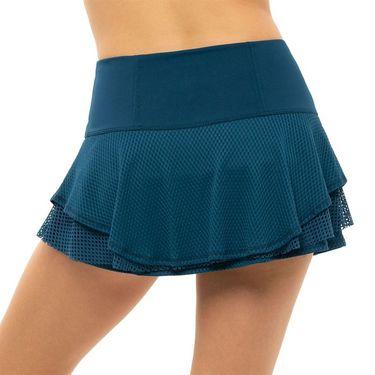 Lucky in Love Pretty In Ink Flip Skirt Womens Indigo CB544 402