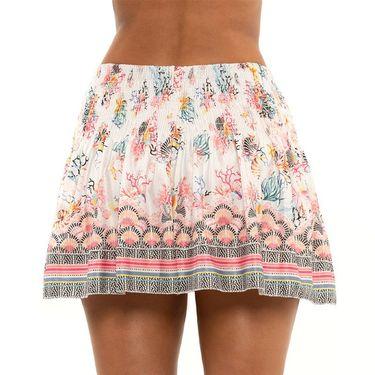 Lucky in Love Novelty Long Shell Yeah! Skirt Womens Multi CB548 J44955