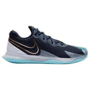 Nike Court Air Zoom Vapor Cage 4 Mens Tennis Shoe - Obsidian/Blue