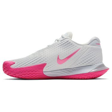 Nike Air Zoom Vapor Cage 4 HC Womens Tennis Shoe Grey Fog/Pink Blast/White CD0431 005