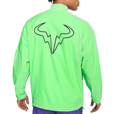 Nike Rafa Full Zip Jacket Mens Green Strike/Black CI9135 398